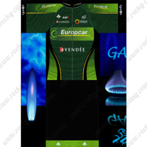 2014 Team Europcar VENDEE Cycling Kit Green