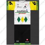 2014 Team GARMIN SHARP cervelo Cycling Kit White Yellow Green