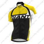 2014 Team GIANT Cycling Jersey Yellow Black
