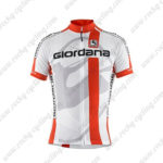 2014 Team Giordana Cycling Jersey White Red