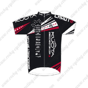 2014 Team KUOTA Cycling Jersey Maillot Shirt Black Red