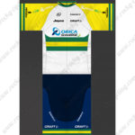 2014 Team ORICA GreenEDGE Cycling Kit White Yellow Green