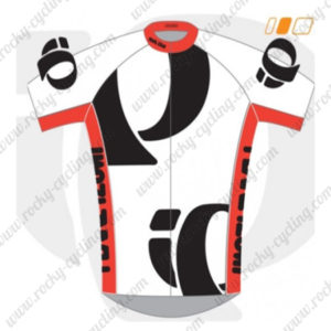 2014 Team PEARL IZUMI Cycling Jersey White Black Red