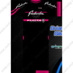 2014 Team Radenska KUOTA Cycling Kit Black Pink