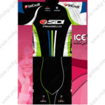 2014 Team SIDI PINARELLO Cycling Kit Black Green