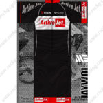 2014 Team TREK Active Jet Cycling Kit Black Red