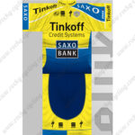 2014 Team Tinkoff SAXO BANK Cycling Kit Yellow Blue