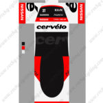 2015 Team 3T cervelo Cycling Kit Red Black