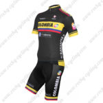 2015 Team COLOMBIA Cycling Kit Black Yellow