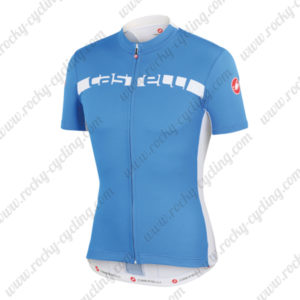 2015 Team Castelli Cycling Jersey Blue White