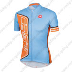 2015 Team Castelli Cycling Jersey Blue Yellow
