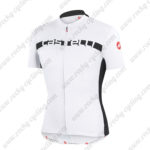 2015 Team Castelli Cycling Jersey White Black