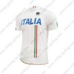 2015 Team ITALIA Cycling Jersey White Blue