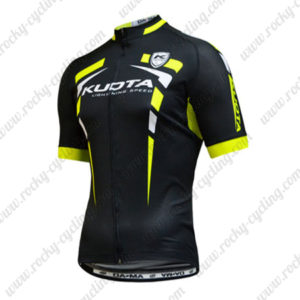 2015 Team KUOTA Cycling Jersey Black Green