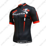 2015 Team KUOTA Cycling Jersey Black Red