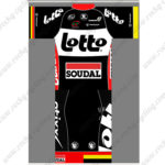 2015 Team LOTTO SOUDAL Cycling Kit Black