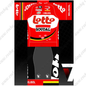 2015 Team LOTTO SOUDAL Cycling Kit Red