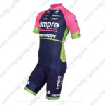 2015 Team Lampre MERIDA Cycling Kit Pink Blue