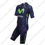 2015 Team Movistar Cycling Kit Blue