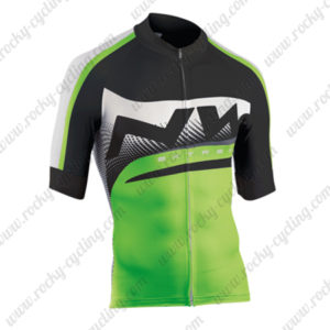 2015 Team NW Cycling Jersey Black Green
