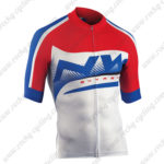 2015 Team NW Cycling Jersey Red Blue White