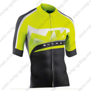 2015 Team NW Cycling Jersey Yellow Black