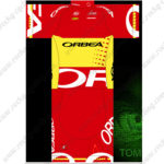 2015 Team ORBEA Cycling Kit Red Yellow