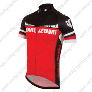 2015 Team PEARL IZUMI Cycling Jersey Black Red