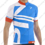 2015 Team PINARELLO Cycling Jersey Blue White