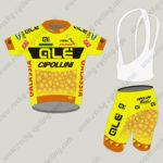 2015 Team QLE Cycling Kit Yellow