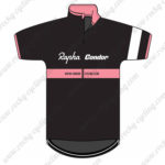 2015 Team Rapha Condor Cycling Jersey Black Pink