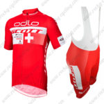 2015 Team SCOTT odlo Riding Bib Kit Red