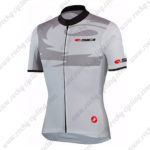 2015 Team SIDI Cycling Jersey White Grey
