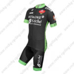 2015 Team Seche Cycling Kit Black Green