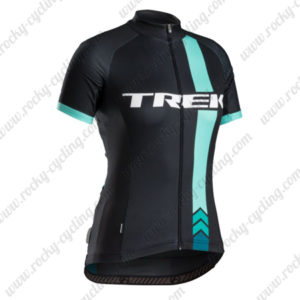 2015 Team TREK Cycling Jersey Black Blue