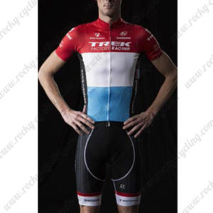 2015 Team TREK Cycling Kit Red White Blue