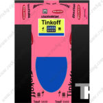 2015 Team Tinkoff SAXO BANK Tour de Italia Cycling Kit Pink