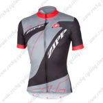 2015 Team ZIPP Cycling Jersey Black Grey Red