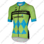 2015 Team cannondale GARMIN Cycling Jersey Green Blue