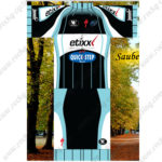 2015 Team etixx QUICK STEP Biking Kit Black Blue White