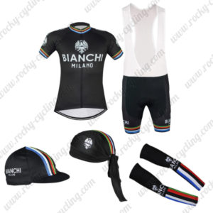 2016 Team BIANCHI Riding Bib Set 5-piece