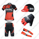 2016 Team BMC Cycling 5-piece Set Red Black