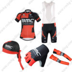 2016 Team BMC Cycling Bib Set 5-piece