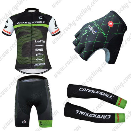2016 Team Cannondale Cycle Apparel Set Riding Jersey and Padded ... 82cd38fbf