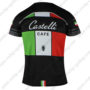 2016 Team Castelli CAFE Outdoor Sport Apparel Biking Sweatshirt Round Neck T-shirt Black Green Red