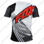 2016 Team FOX Outdoor Sport Apparel Biking Sweatshirt Round Neck T-shirt Black White Red