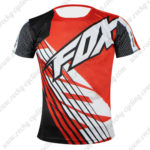 2016 Team FOX Outdoor Sport Apparel Biking Sweatshirt Round Neck T-shirt Red