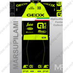 2016 Team GEOX GLE Cycling Kit Black Green