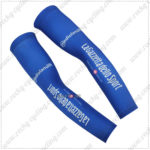 2016 Team LaGazzettadello Sport Tour de Italia Cycling Arm Warmers Sleeves Blue