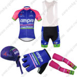 2016 Team Lampre MERIDA Cycling Bib Set 5-piece